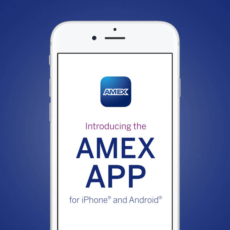 American Express Mobile App Launch